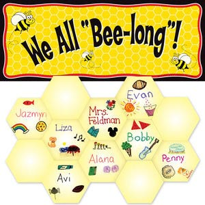 Bulletin Board Ideas - We All Bee-Long