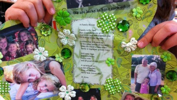 St Patrick's Day Shamrock Activity