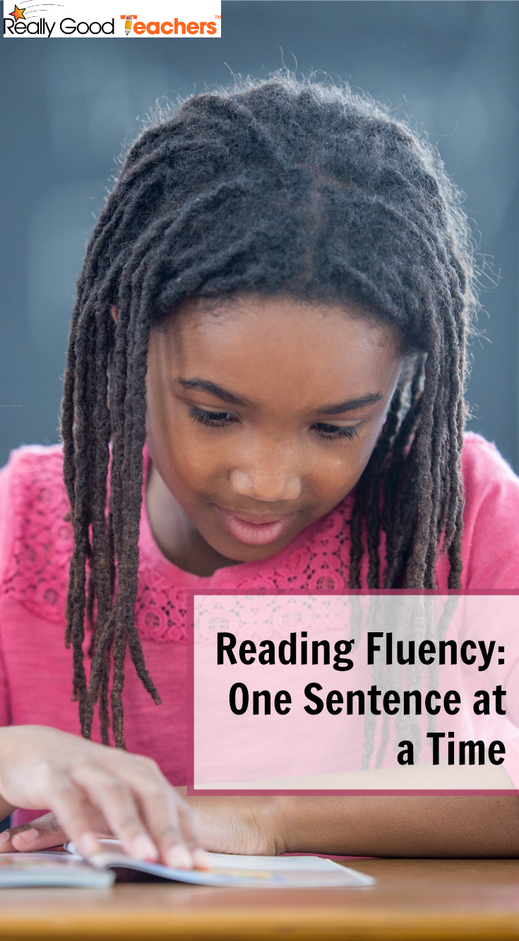 Reading Fluency - One Sentence at a Time - ReallyGoodTeachers.com
