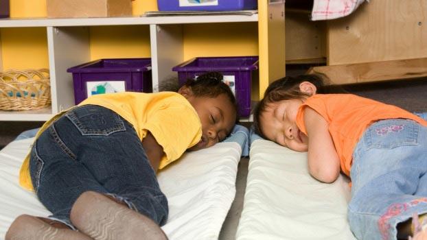 Tips for Naptime in Preschool