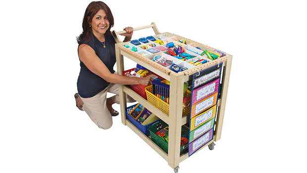 Traveling Teacher Cart